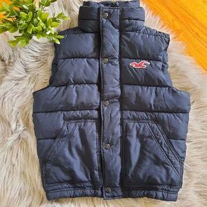 Mens Hollister Puffer Fall / Winter Vest